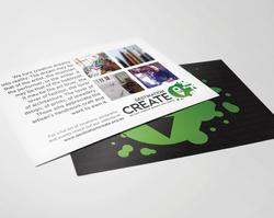 Destination Create promo card
