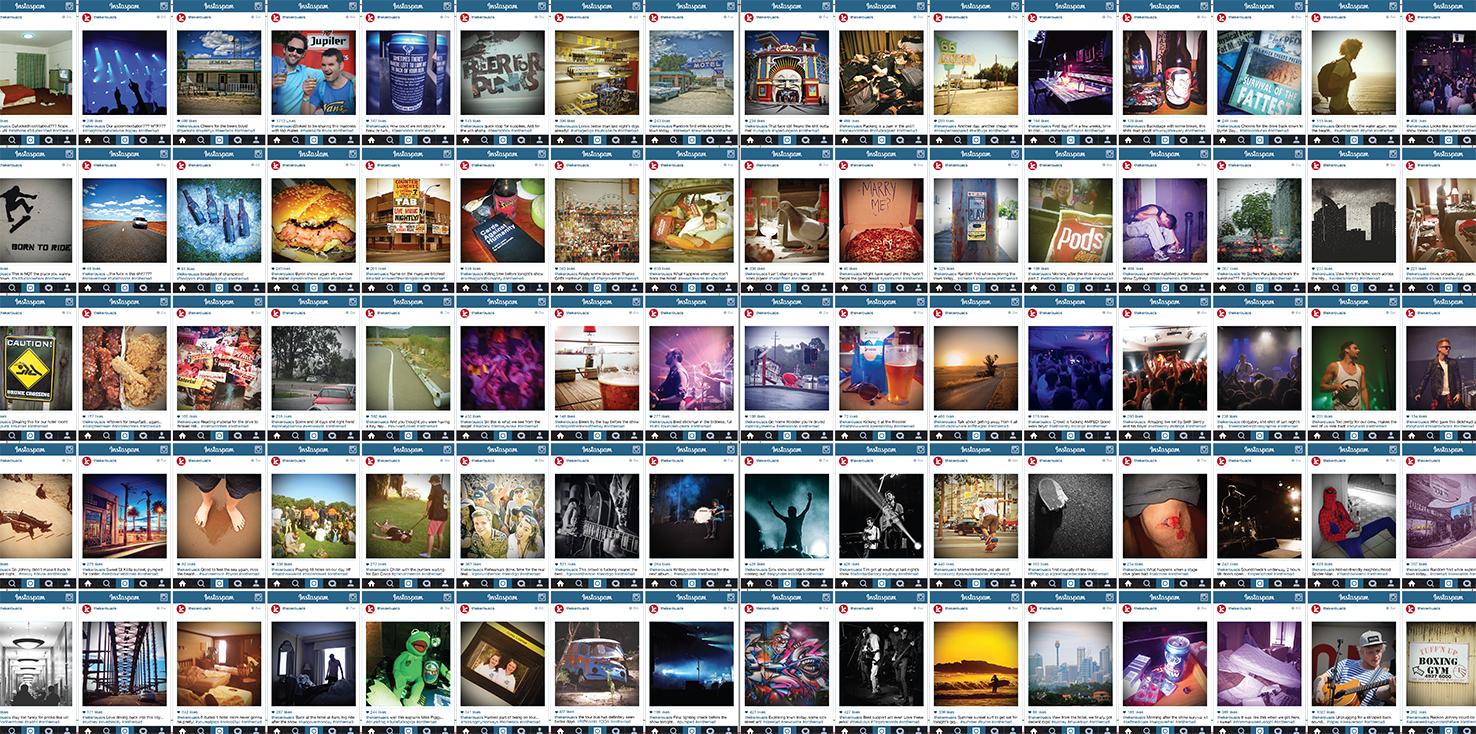 The Kerouacs album cover interior