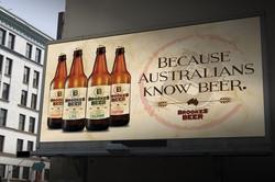 Brookes Beer billboard