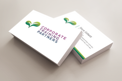 Corporate Partners business cards