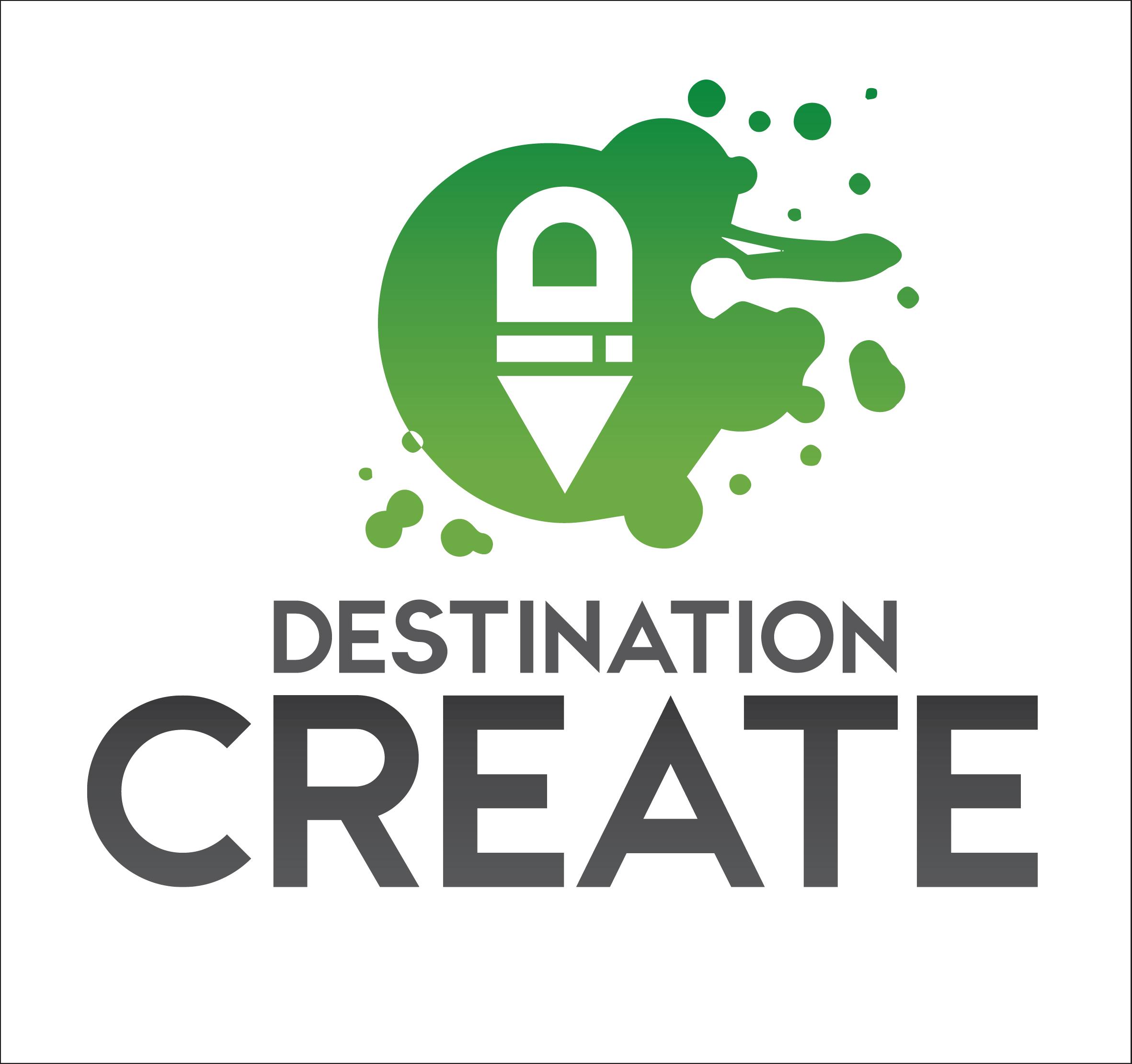 Destination Create logo stack