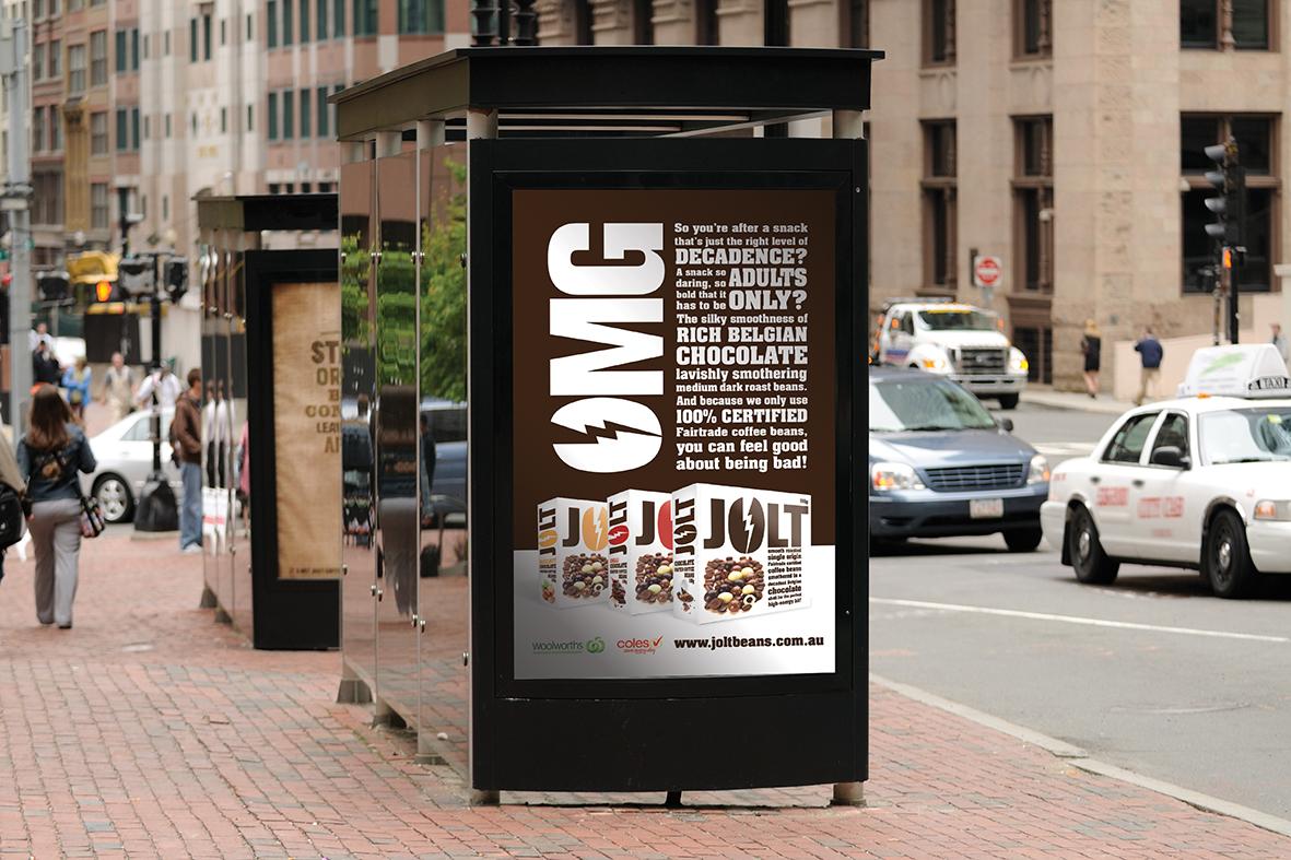 JOLT promo signage