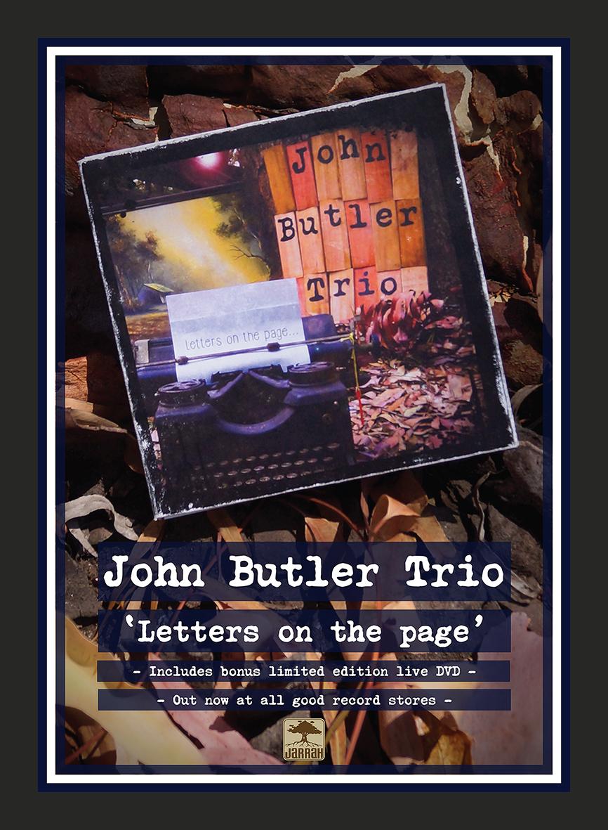 John Butler Trio promo poster