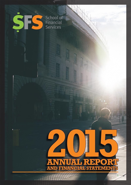 SFS Annual Report cover