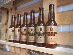 Brookes Beer bottles