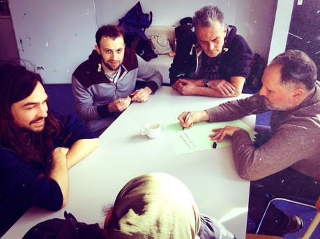 Urban Guerrilla Workshop at JES