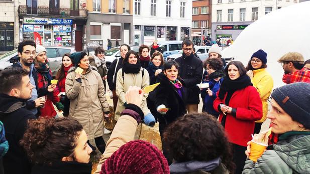 Feminist Walk in collaboration with Urba