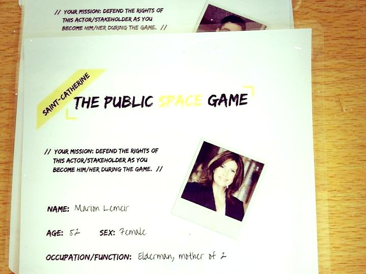 The Public Space Game: Methodology Creation