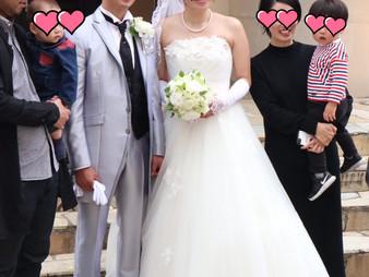 令和元年5月1日 ご結婚おめでとうございます!