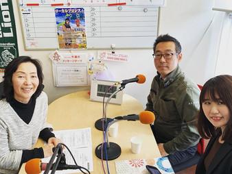 ラジオサンキュー(RADIO SANQ)さんで収録がありました。