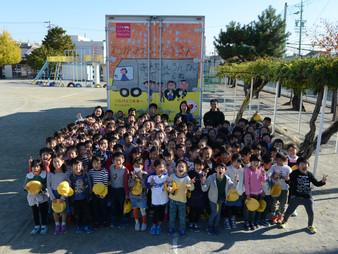 本地原小学校にて交通安全教室を行いました。