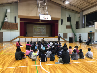 瀬戸市立幡山西小学校にて交通安全教室を行いました!
