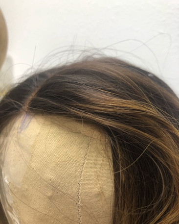 Lace Frontal Hand Tied