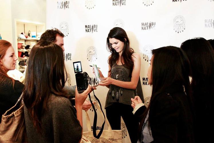Kendal Jenner - Malibu Native Launch