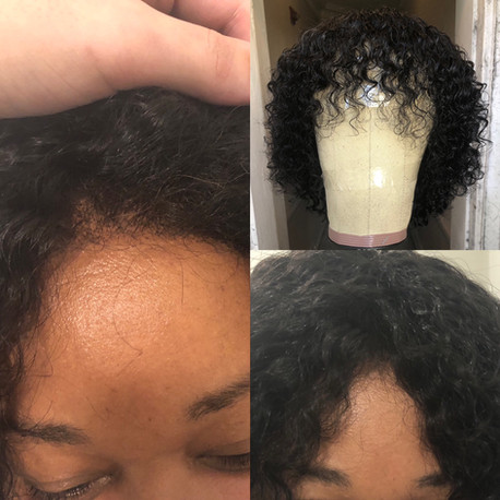 Glueless Handtied Lace Frontal 13X4