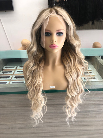 """Blonde Full Custom Build 28"""" with 13X6 Lace Frontal"""