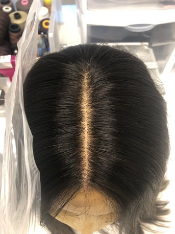 Hairline retie and Clean up