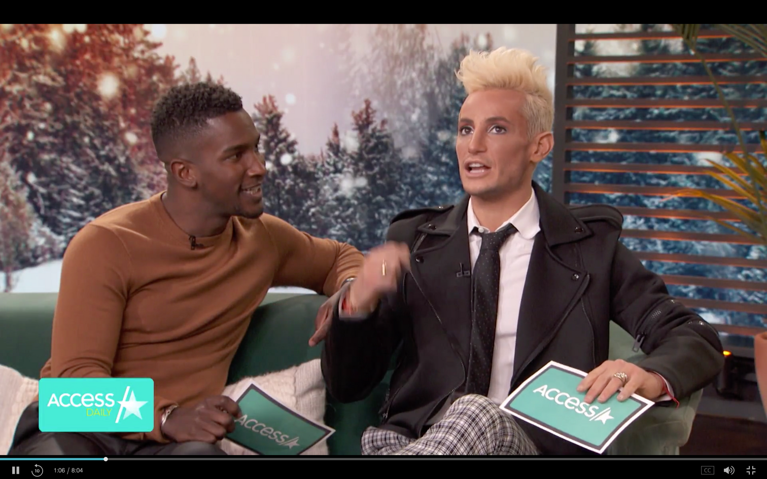 Frankie Grande - Access Live
