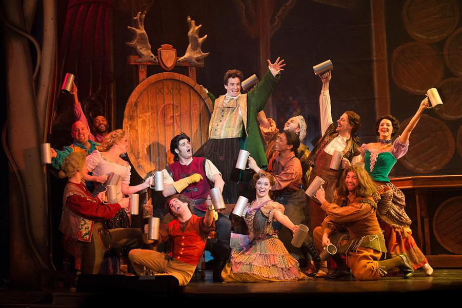 Beauty and the Beast - Ogunquit Playhouse and The Musical Hall