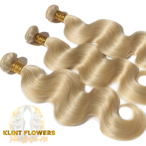 Blonde Bodywave Human Hair Bundles Express