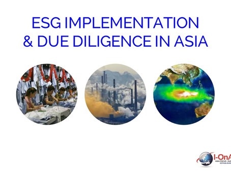Event: ESG Implementation & Due Diligence In Asia