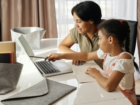Corporate Devices in Low-Access WFH Families + Human Trafficking Threats