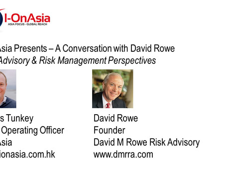 Event: Risk Advisory & Risk Management Perspectives w/ David Rowe