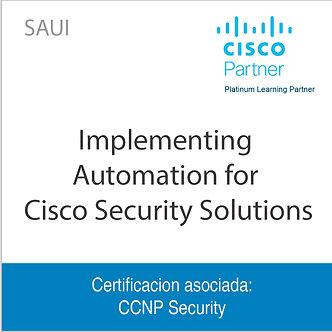 SAUI | Implementing Automation for Cisco Security Solutions