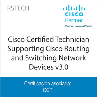RSTECH | Cisco Certified Technician Supporting Cisco Routing and Switching Netwo