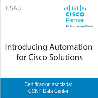 CSAU | Introducing Automation for Cisco Solutions