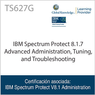 TS627G | IBM Spectrum Protect Advanced Administration, Tuning & Troubleshooting