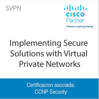SVPN | Implementing Secure Solutions with Virtual Private Networks