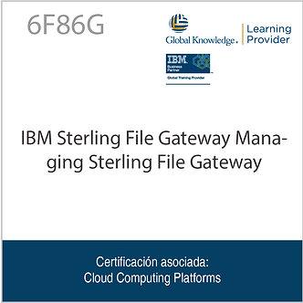 6F86G | IBM Sterling File Gateway Managing Sterling File Gateway
