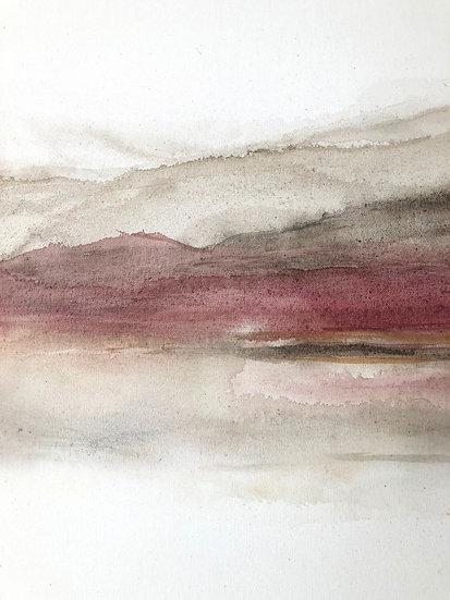 desert canyon print