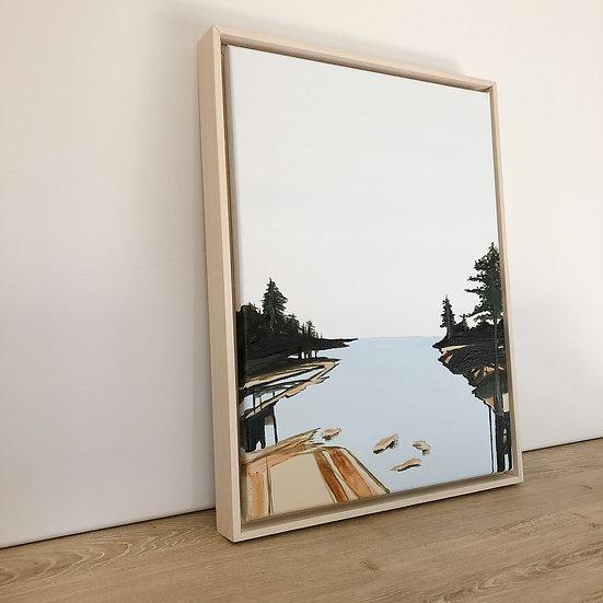 Lake Life | 12x16 | Original on Canvas