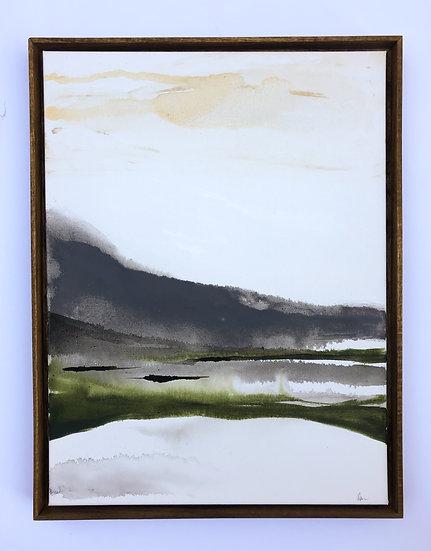 "Reflection at Hidden Pond 18"" x 24"""