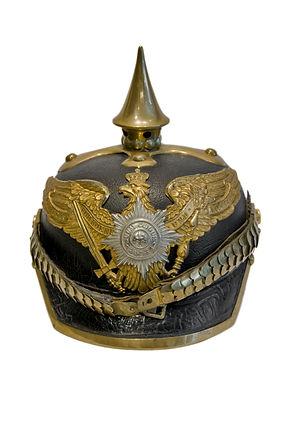 Antique Prussian Pickelhaube Military He