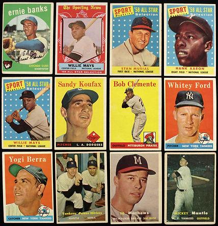Topps Vintage Baseball Card Lot - Mickey