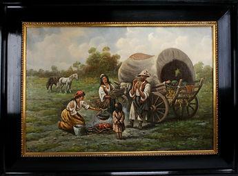 Original Adolf Baumgartner Stoiloff Oil