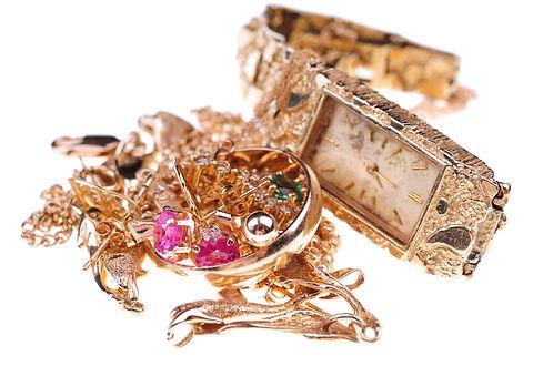 Scrap 10K, 14K, 18K Gold Jewelry and Wat