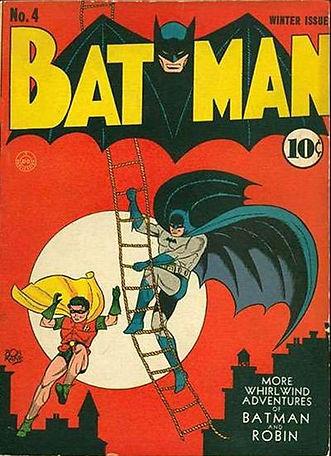 Batman 4 Vintage Golden Age Comic Book.j