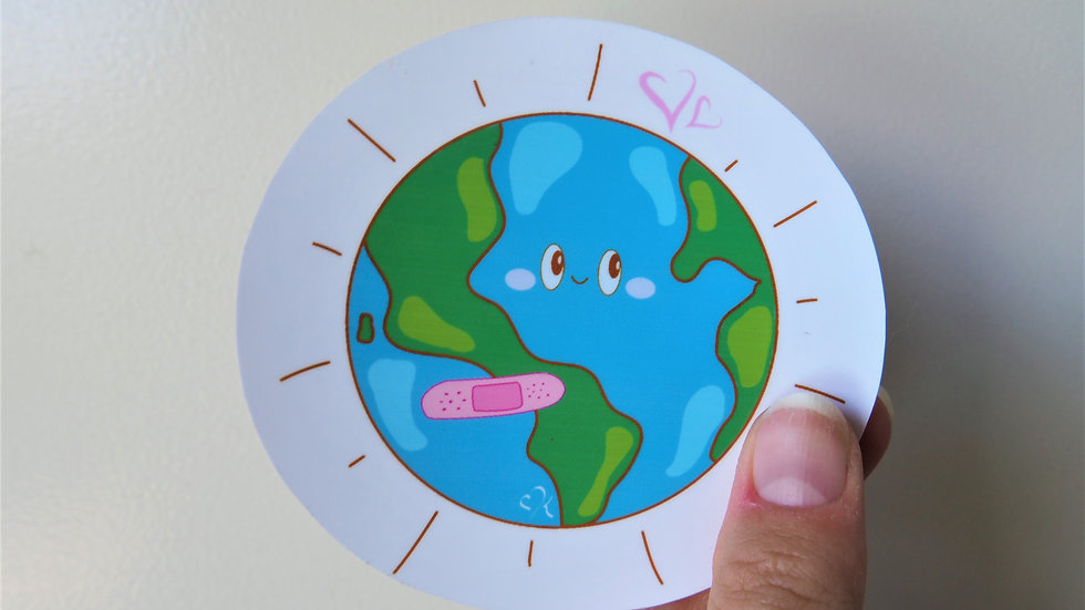 Love the World Sticky (Fundraiser!)