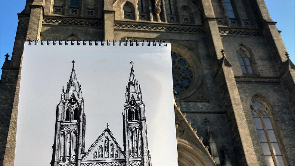 Prague Church (sold)