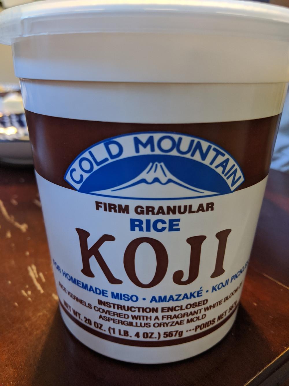 Cold Mountain Rice Koji