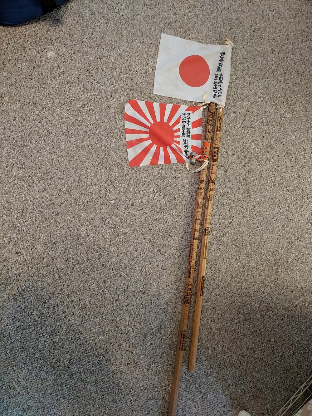 Mt. Fuji hiking sticks
