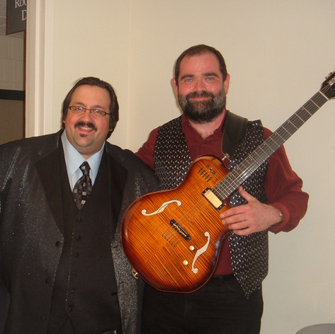 With Joey DeFrancesco