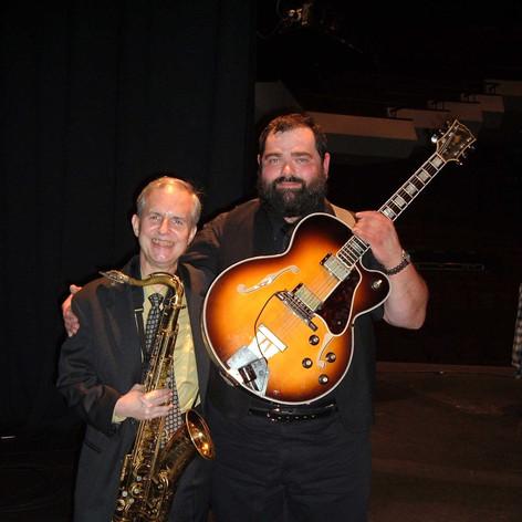 With Scott Hamilton