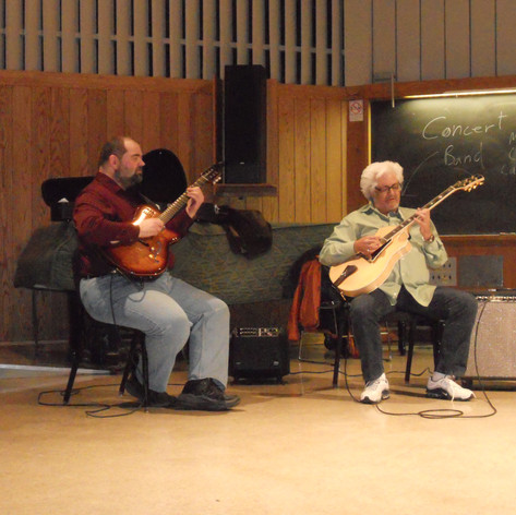 With Larry Coryell