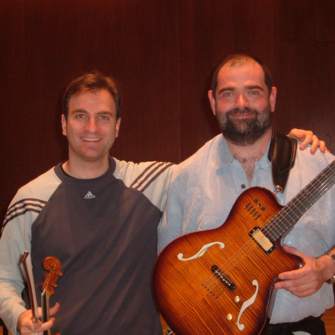 With Stefan Milenković