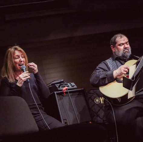 With Cheryl Wilson